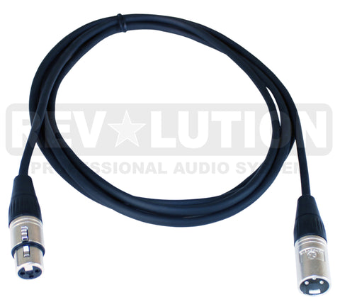 Microphone Cable Balanced with Ningbo Neutrik Connectors - REVOLUTIONPRO