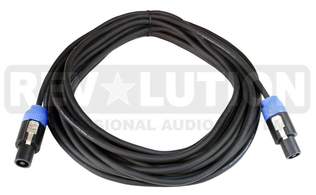EXT-20330 Speaker Cable with Revolution Connectors, 4P-Speakon Male to  4P-Speakon Male - KobeUSA
