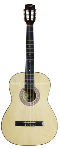 INS-10210 Spanish or Classical Guitar 39'' with bag - KobeUSA