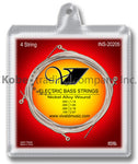 INS-20205 Electrical Bass Strings (4 Strings) Nickel Alloy Wound, Regular Light - KobeUSA