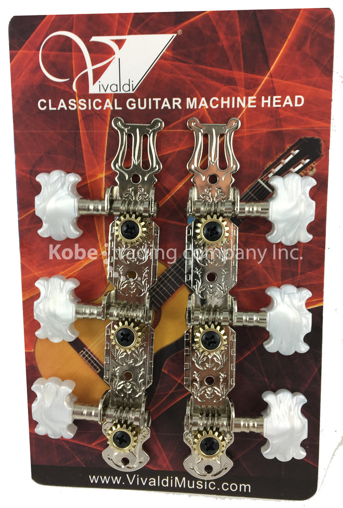 INS-20235 Classical Guitar Tuners Tuning Key Pegs/Machine Heads - KobeUSA