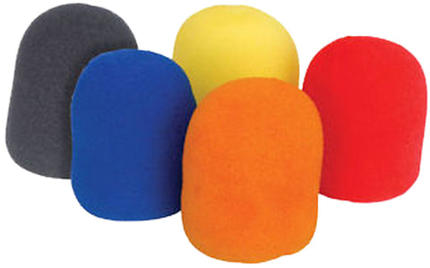 Pack of 5 Colors Microphone Wind Screen of Foam