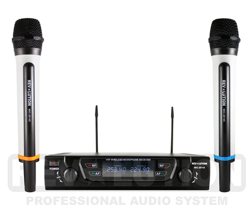 MIC-20145 VHF Wireless Microphone system - REVOLUTIONPRO