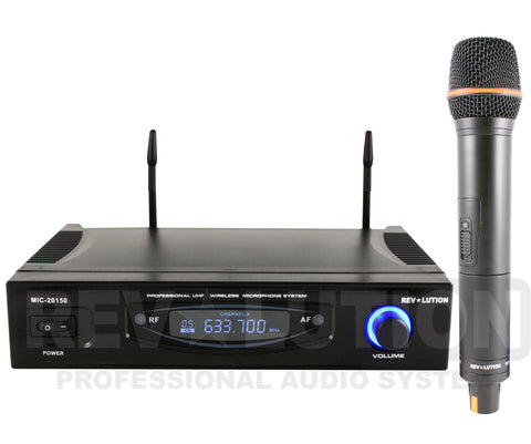 MIC-20150 UHF Wireless Microphone system - REVOLUTIONPRO