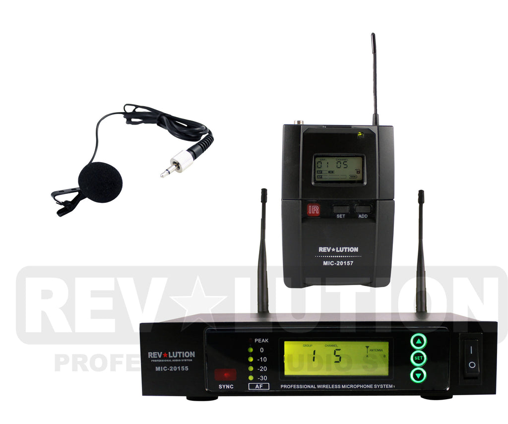MIC-20157 UHF Wireless Microphone system - REVOLUTIONPRO