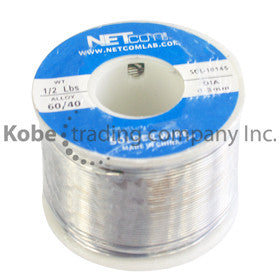 SOL-10145  Tin Lead Rosin Core Solder Flux 60/40 1/2Lbs - KobeUSA