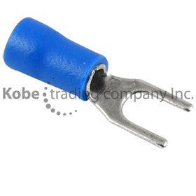 TER-12140-G  Locking Spade Terminal, 8 Stud, 16-14 Gauge (100 Units) - KobeUSA