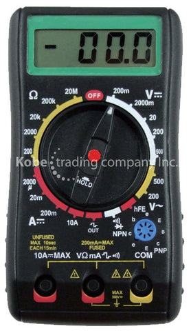 TES-10108 Digital Multimeter - KobeUSA