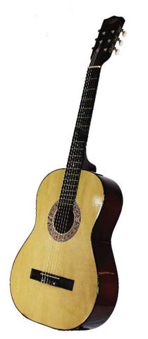 "INS-10101 LAREal Acoustic Guitar 38"" Natural Color"