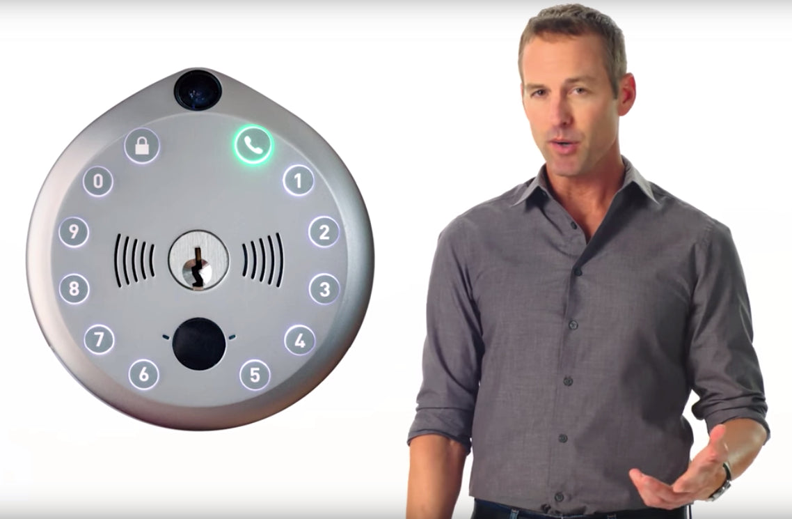 Load image into Gallery viewer, Gate All-in-One Video Smart Lock
