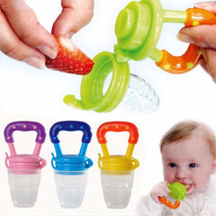 Baby Pacifier - Pacifier with reservoir - Pacifier with food insertion