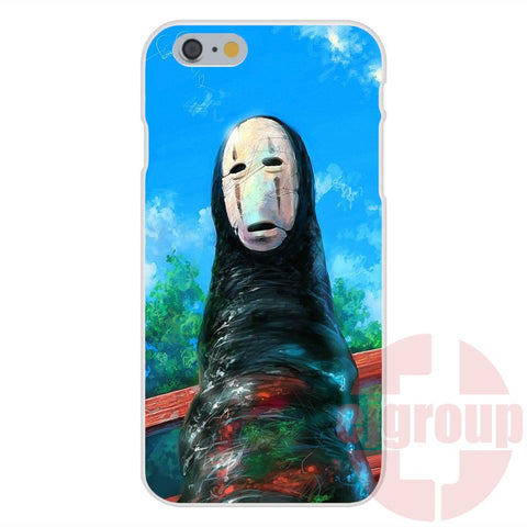 For iPhone 5C - Silicon Cell Case japan cartoon spirited away