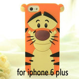 3D Cartoon Sulley Marie Alice Cat Tigger Daisy Mickey Minnie back Cover For iPhone6, 6S, Plus., case for iphone, Fimterra.com