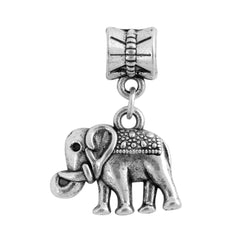 Women Jewelry - Alloy Bead Charms - European Elephant - Pendant Fit Diy Pandora Bracelets.