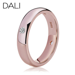 DALI Rose Gold Plated - Rings for Women Luxury Zircon.