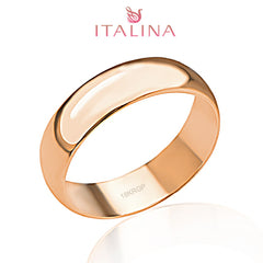 Italina Brand Ring - Rose Gold Plated - Jewelry Ring Unisex