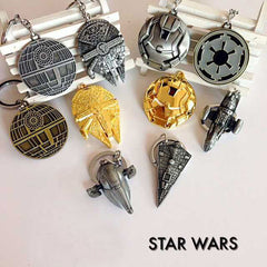 7 Spacecraft Warship Keychain Toys 2017  - Imperial Star Wars