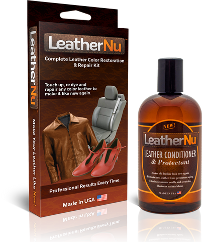LeatherNu Repair Kit & Conditioner Combo