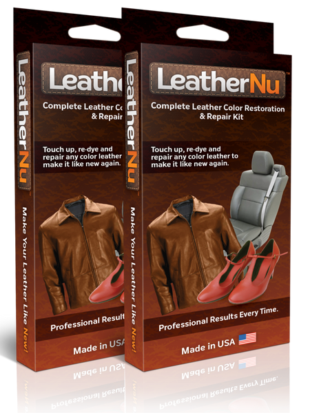 LeatherNu Repair Kit twin pack
