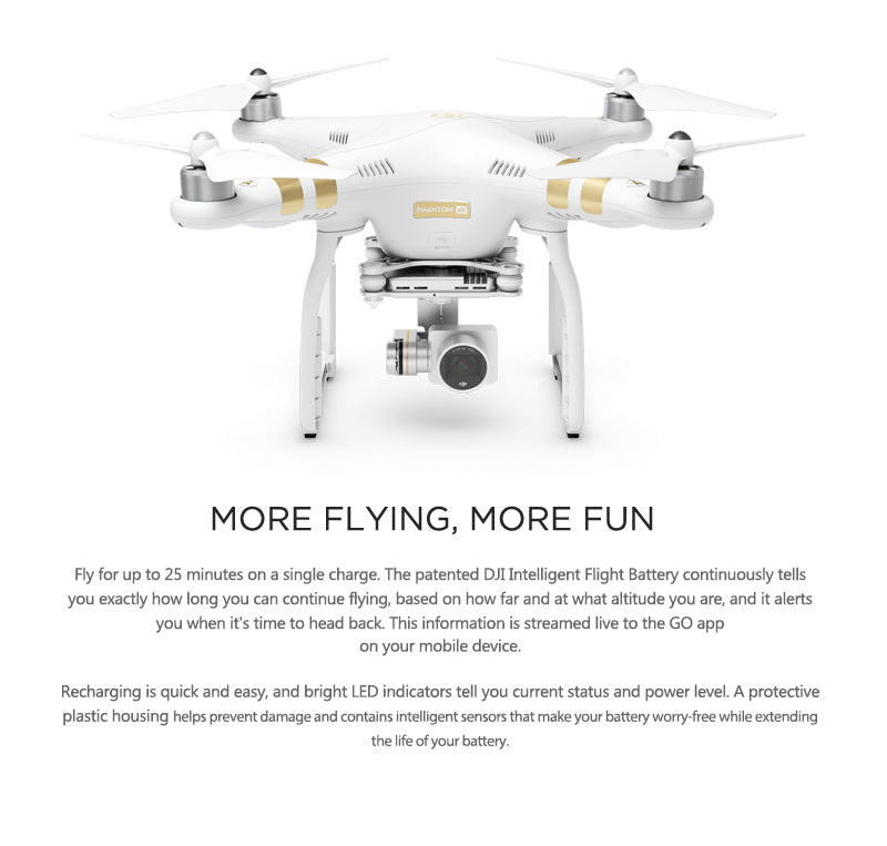 DJI Phantom 3 4K SE Quadcopter Drone - 11