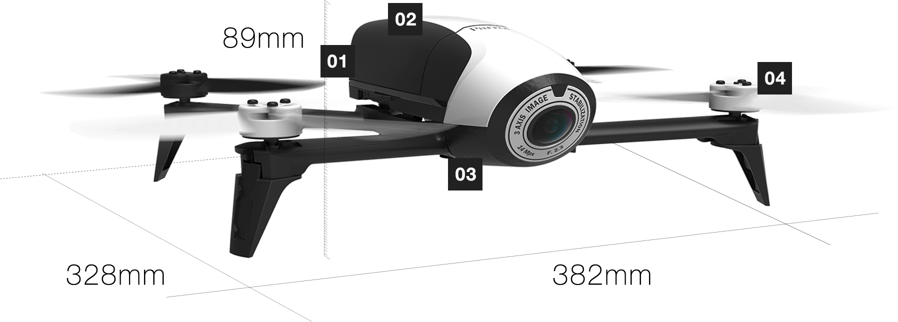 Parrot Bebop 2 Product Spec