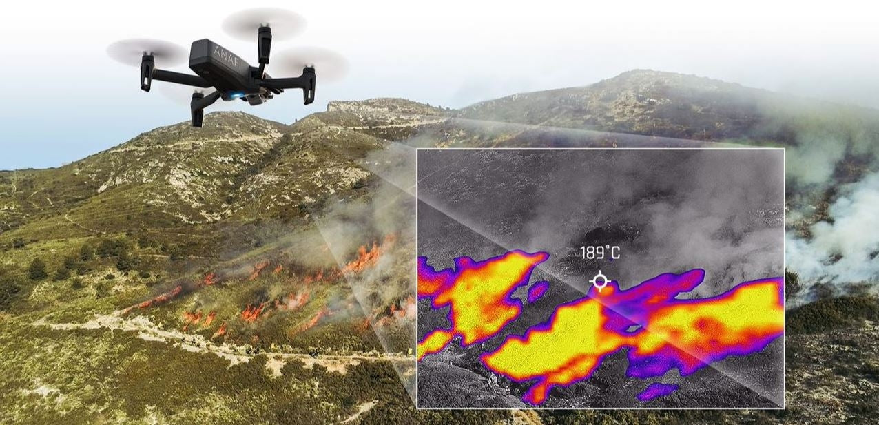 ANAFI THERMAL, THE THERMAL IMAGING DRONE ADAPTED TO THE NEEDS OF ALL PROFESSIONALS
