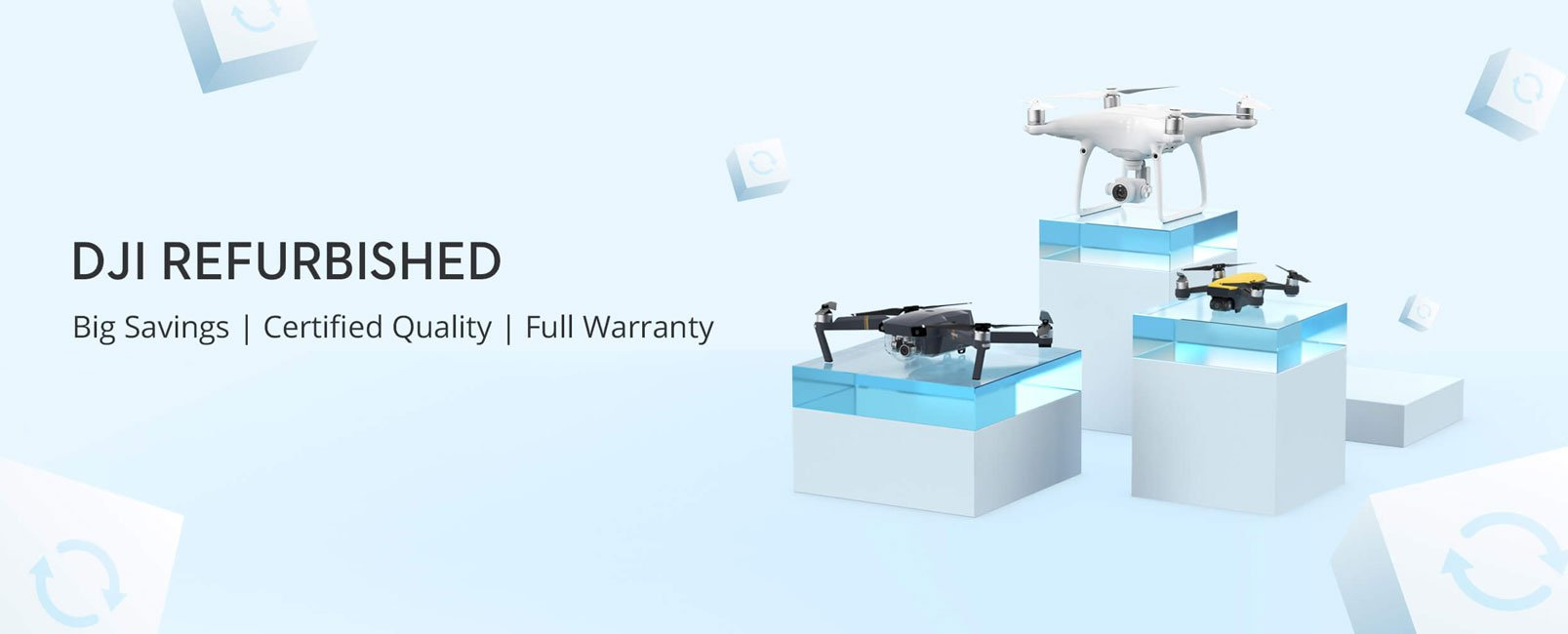 DJI Refurbished Drones