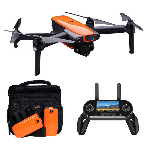 Autel Robotics™ EVO 4K Quadcopter Orange - with On-The-Go Bundle Included