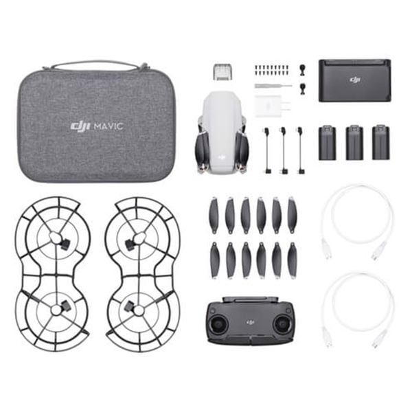 DJI™ Mavic Mini - Fly More Combo (DJI-Certified Refurbished w/ Warranty)