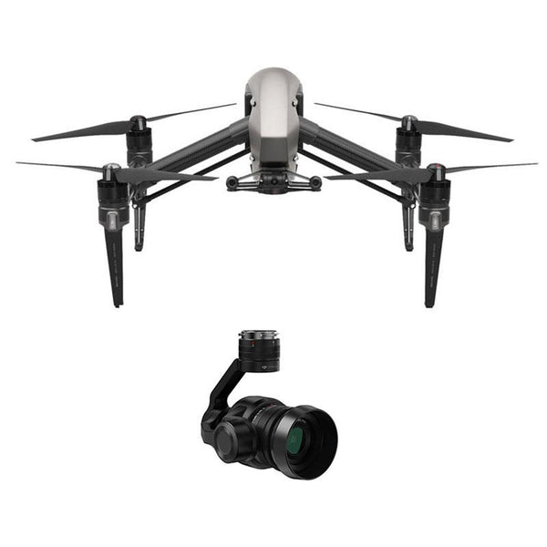 DJI™ Inspire 2 Quadcopter Combo with Zenmuse X5S Camera  (No ProRes/CinemaDNG)