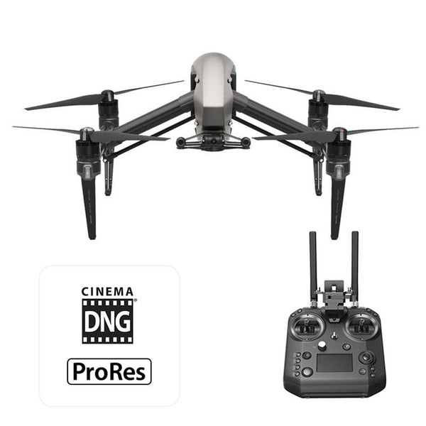 DJI™ Inspire 2 Raw Quadcopter - Cendence Remote, CinemaDNG, Apple ProRes