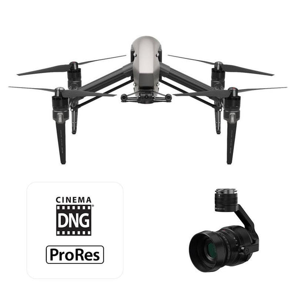 DJI™ Inspire 2 With Zenmuse X5S Camera CinemaDNG and Apple ProRes