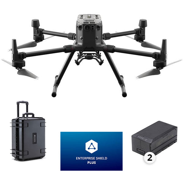 DJI Matrice 300 Commercial Quadcopter w/ RTK, Battery Station & Enterprise Shield Plus