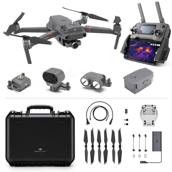 DJI Mavic 2 Enterprise Zoom Camera Drone with Enterprise Shield Basic Protection