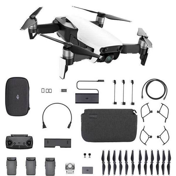 DJI™ Mavic Air Fly More Combo - Arctic White (DJI-Certified Refurbished w/ Warranty)
