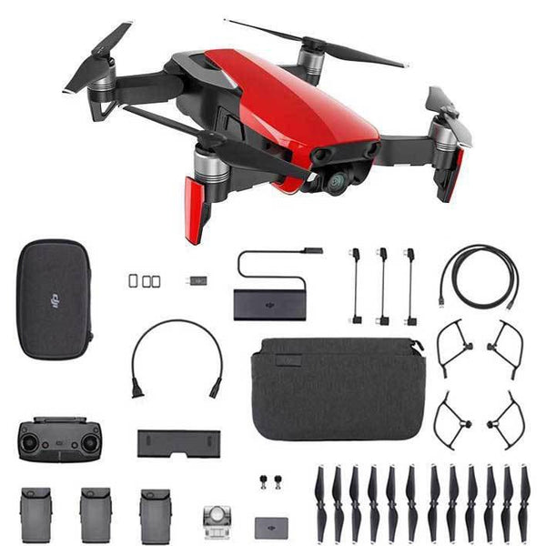DJI™ Mavic Air Fly More Combo - Flame Red