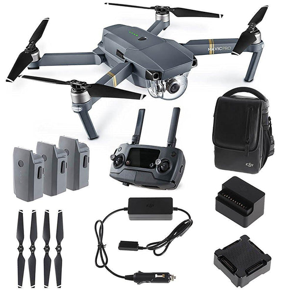 DJI Mavic Pro Fly More Combo (DJI-Certified Refurbished w/ Warranty)