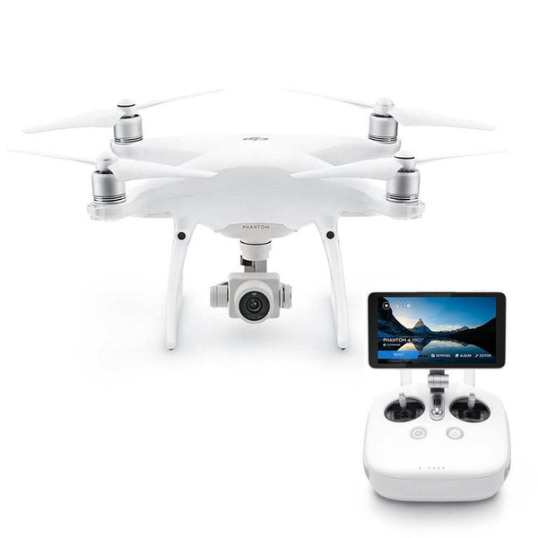 "DJI™ Phantom 4 Pro+ Quadcopter With Built In 5.5"" HD Screen (DJI-Certified Refurbished w/ Warranty)"