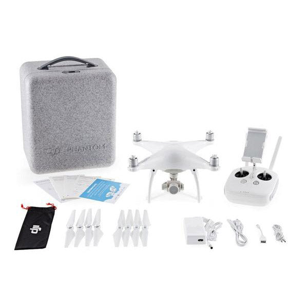 DJI™ Phantom 4 Quadcopter 4K Video Camera Drone (DJI-Certified Refurbished w/ Warranty)