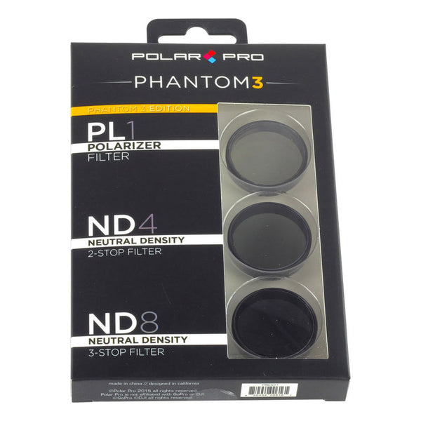 PolarPro DJI Phantom 3 Filters (3-Pack)