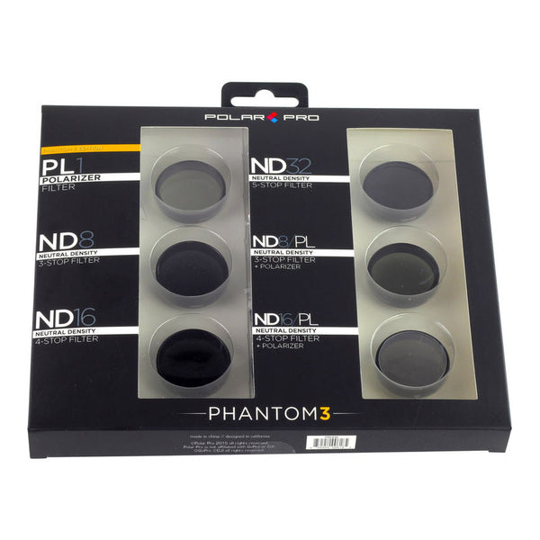 PolarPro Phantom 3 Filters (6-Pack)