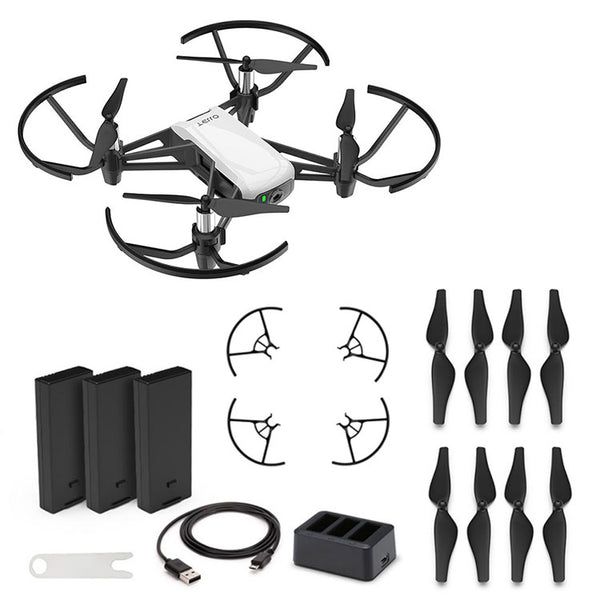 DJI™ Tello Boost Combo Mini Drone by Ryze Tech (3 Batteries/Charging Hub)