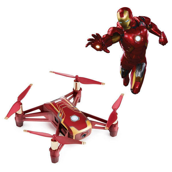 DJI™ Tello Quadcopter (Iron Man Edition)