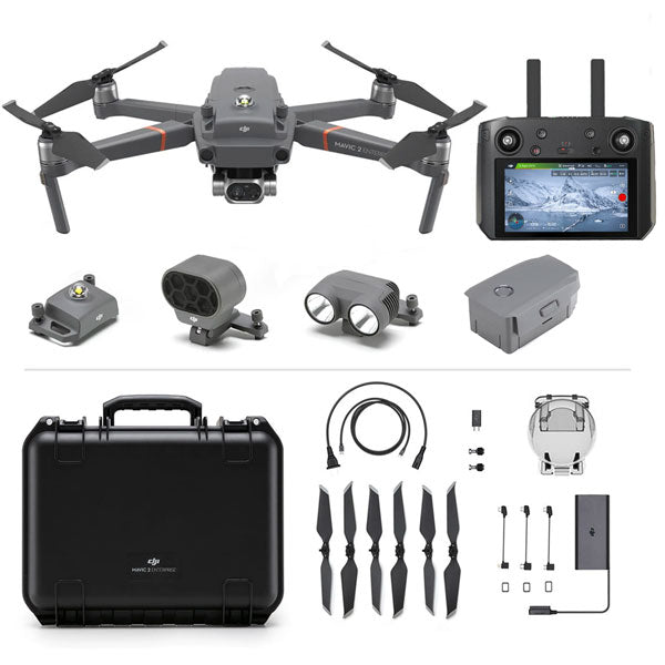 DJI™ Mavic 2 Enterprise Dual Camera Drone with Smart Controller with Enterprise Shield Basic Protection