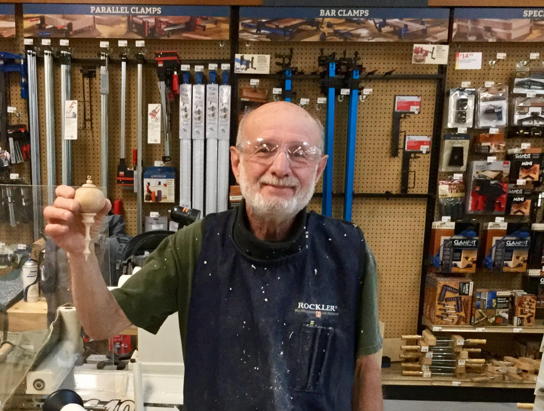 First Ornament Class at Rockler