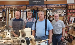 Woodturning classes at Rockler