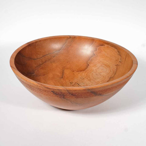 13 Inch Spalted Maple Wooden Salad Bowl