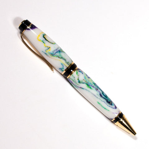 Spring Flowers Gold Katahdin Pen