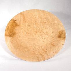 13 1/2 inch Birdseye Maple Platter
