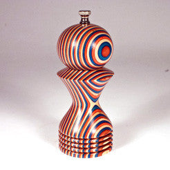 6 Inch Red White and Blue Morrison Pepper Mill